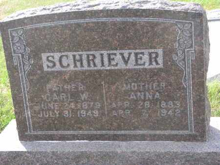 SCHRIEVER, CARL W. - Cuming County, Nebraska | CARL W. SCHRIEVER - Nebraska Gravestone Photos