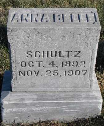 SCHULTZ, ANNA BELLE - Cuming County, Nebraska | ANNA BELLE SCHULTZ - Nebraska Gravestone Photos