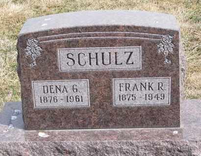SCHULZ, FRANK R. - Cuming County, Nebraska | FRANK R. SCHULZ - Nebraska Gravestone Photos