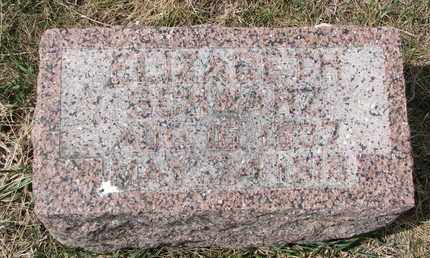 SCHWARZ, ELIZABETH - Cuming County, Nebraska   ELIZABETH SCHWARZ - Nebraska Gravestone Photos
