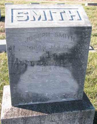 SMITH, JOSEPH - Cuming County, Nebraska   JOSEPH SMITH - Nebraska Gravestone Photos