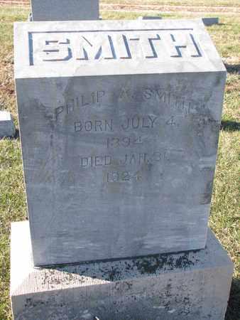 SMITH, PHILIP A. - Cuming County, Nebraska | PHILIP A. SMITH - Nebraska Gravestone Photos