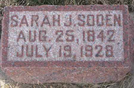 SODEN, SARAH J. - Cuming County, Nebraska | SARAH J. SODEN - Nebraska Gravestone Photos