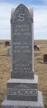 SPENCER, MARY ELLEN - Cuming County, Nebraska   MARY ELLEN SPENCER - Nebraska Gravestone Photos