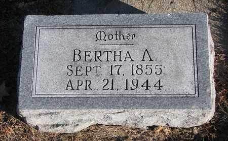 SPIEGELBERG, BERTHA A. - Cuming County, Nebraska | BERTHA A. SPIEGELBERG - Nebraska Gravestone Photos