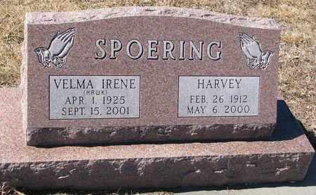 SPOERING, HARVEY - Cuming County, Nebraska | HARVEY SPOERING - Nebraska Gravestone Photos