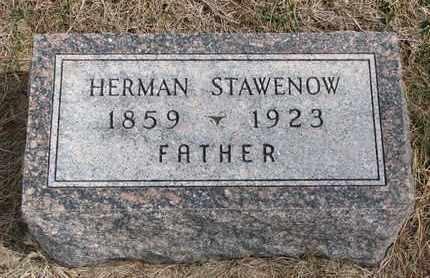 STAWENOW, HERMAN - Cuming County, Nebraska   HERMAN STAWENOW - Nebraska Gravestone Photos
