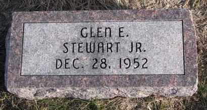 STEWART, GLEN E. JR. - Cuming County, Nebraska | GLEN E. JR. STEWART - Nebraska Gravestone Photos