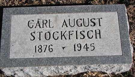 STOCKFISCH, CARL AUGUST - Cuming County, Nebraska   CARL AUGUST STOCKFISCH - Nebraska Gravestone Photos