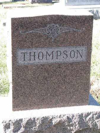 THOMPSON, FAMILY STONE - Cuming County, Nebraska | FAMILY STONE THOMPSON - Nebraska Gravestone Photos