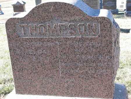 THOMPSON, H.P. - Cuming County, Nebraska | H.P. THOMPSON - Nebraska Gravestone Photos