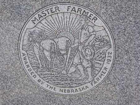 THOMPSON, OSCAR (MASTER FARMER) - Cuming County, Nebraska | OSCAR (MASTER FARMER) THOMPSON - Nebraska Gravestone Photos