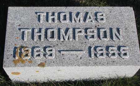 THOMPSON, THOMAS - Cuming County, Nebraska | THOMAS THOMPSON - Nebraska Gravestone Photos