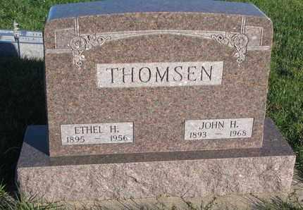THOMSEN, JOHN H. - Cuming County, Nebraska   JOHN H. THOMSEN - Nebraska Gravestone Photos
