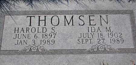 THOMSEN, IDA M. - Cuming County, Nebraska | IDA M. THOMSEN - Nebraska Gravestone Photos