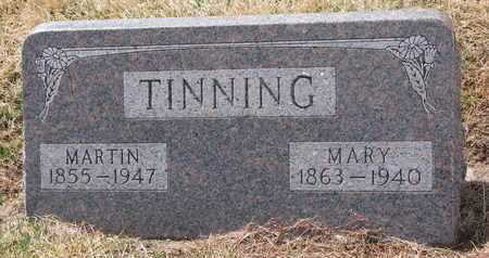 TINNING, MARTIN - Cuming County, Nebraska   MARTIN TINNING - Nebraska Gravestone Photos
