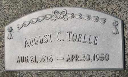 TOELLE, AUGUST C. - Cuming County, Nebraska | AUGUST C. TOELLE - Nebraska Gravestone Photos