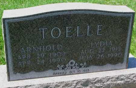 TOELLE, ARNHOLD - Cuming County, Nebraska | ARNHOLD TOELLE - Nebraska Gravestone Photos