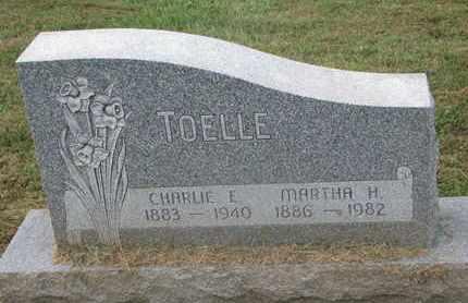 TOELLE, MARTHA H. - Cuming County, Nebraska | MARTHA H. TOELLE - Nebraska Gravestone Photos