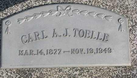 TOELLE, CARL A.J. - Cuming County, Nebraska | CARL A.J. TOELLE - Nebraska Gravestone Photos