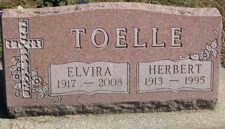TOELLE, HERBERT - Cuming County, Nebraska | HERBERT TOELLE - Nebraska Gravestone Photos