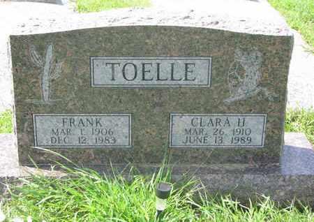 TOELLE, FRANK - Cuming County, Nebraska   FRANK TOELLE - Nebraska Gravestone Photos