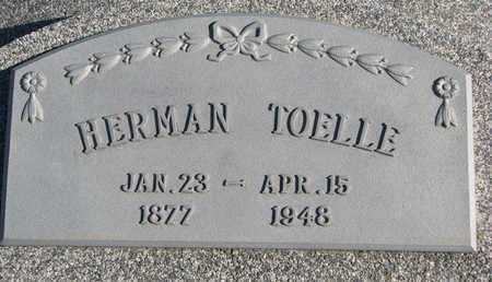 TOELLE, HERMAN - Cuming County, Nebraska | HERMAN TOELLE - Nebraska Gravestone Photos