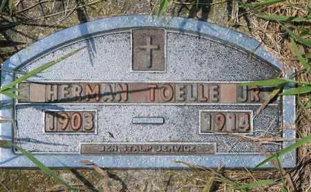 TOELLE, HERMAN JR. - Cuming County, Nebraska   HERMAN JR. TOELLE - Nebraska Gravestone Photos
