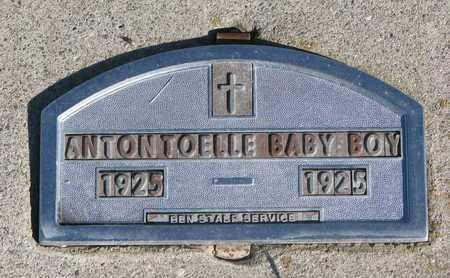 TOELLE, INFANT OF ANTON - Cuming County, Nebraska | INFANT OF ANTON TOELLE - Nebraska Gravestone Photos