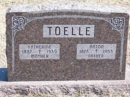 TOELLE, ANTON - Cuming County, Nebraska | ANTON TOELLE - Nebraska Gravestone Photos