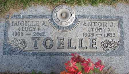 """TOELLE, LUCILLE A. """"LUCY"""" - Cuming County, Nebraska 