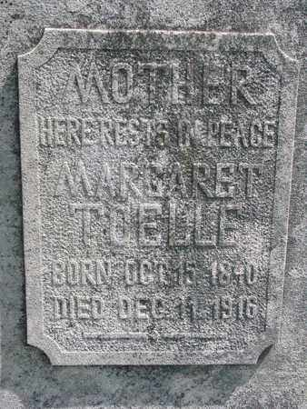 TOELLE, MARGARET (CLOSE UP) - Cuming County, Nebraska | MARGARET (CLOSE UP) TOELLE - Nebraska Gravestone Photos