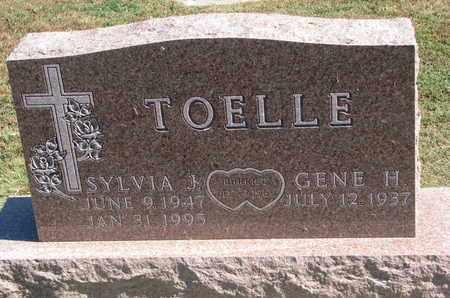 TOELLE, SYLVIA J. - Cuming County, Nebraska | SYLVIA J. TOELLE - Nebraska Gravestone Photos