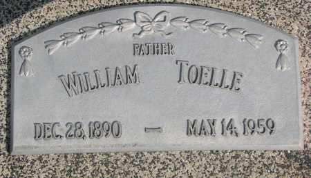 TOELLE, WILLIAM - Cuming County, Nebraska   WILLIAM TOELLE - Nebraska Gravestone Photos