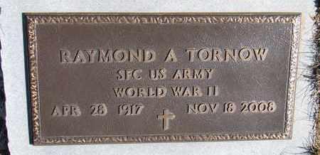 TORNOW, RAYMOND A. - Cuming County, Nebraska   RAYMOND A. TORNOW - Nebraska Gravestone Photos