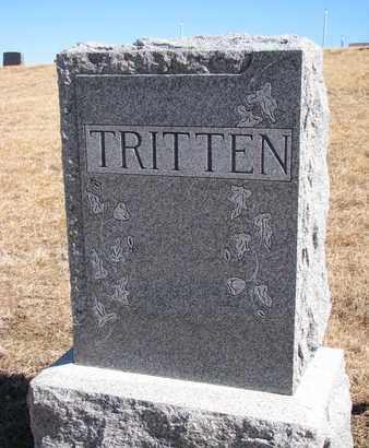 TRITTEN, (FAMILY MONUMENT) - Cuming County, Nebraska   (FAMILY MONUMENT) TRITTEN - Nebraska Gravestone Photos