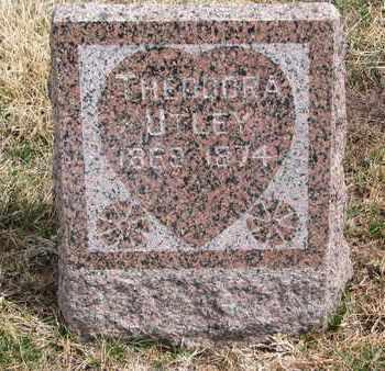 UTLEY, THEODORA - Cuming County, Nebraska | THEODORA UTLEY - Nebraska Gravestone Photos
