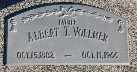 VOLLMER, ALBERT T. - Cuming County, Nebraska | ALBERT T. VOLLMER - Nebraska Gravestone Photos