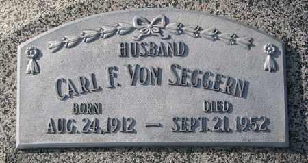VON SEGGERN, CARL F. - Cuming County, Nebraska   CARL F. VON SEGGERN - Nebraska Gravestone Photos