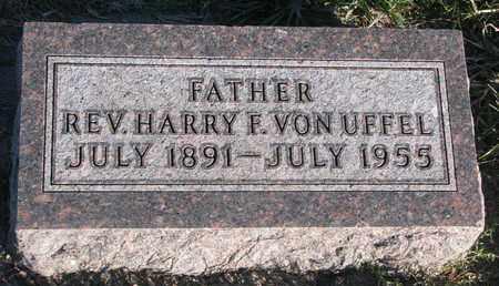 VON UFFEL, HARRY F. (REV.) - Cuming County, Nebraska   HARRY F. (REV.) VON UFFEL - Nebraska Gravestone Photos