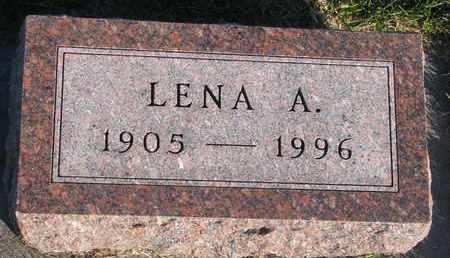 WAGNER, LENA A. - Cuming County, Nebraska | LENA A. WAGNER - Nebraska Gravestone Photos