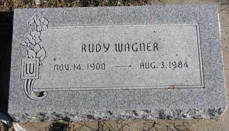 WAGNER, RUDY - Cuming County, Nebraska | RUDY WAGNER - Nebraska Gravestone Photos