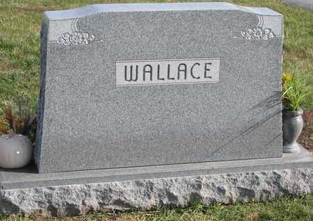 WALLACE, (FAMILY MONUMENT) - Cuming County, Nebraska   (FAMILY MONUMENT) WALLACE - Nebraska Gravestone Photos