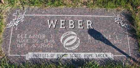 WEBER, EUGENE L. - Cuming County, Nebraska | EUGENE L. WEBER - Nebraska Gravestone Photos