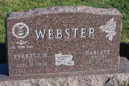 WEBSTER, EVERETT H. - Cuming County, Nebraska   EVERETT H. WEBSTER - Nebraska Gravestone Photos