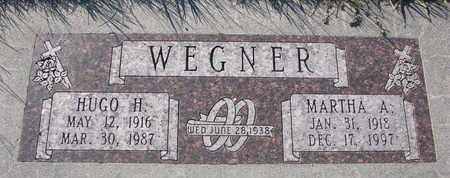 WEGNER, MARTHA A. - Cuming County, Nebraska   MARTHA A. WEGNER - Nebraska Gravestone Photos