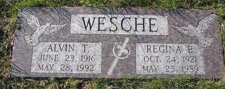 WESCHE, REGINA B. - Cuming County, Nebraska | REGINA B. WESCHE - Nebraska Gravestone Photos