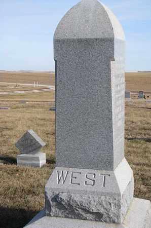 WEST, EVERETT WILLIAM - Cuming County, Nebraska | EVERETT WILLIAM WEST - Nebraska Gravestone Photos