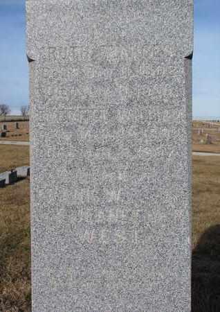 WEST, EVERETT WILLIAM (CLOSEUP) - Cuming County, Nebraska   EVERETT WILLIAM (CLOSEUP) WEST - Nebraska Gravestone Photos