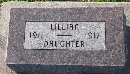 WESTERGARD, LILLIAN - Cuming County, Nebraska   LILLIAN WESTERGARD - Nebraska Gravestone Photos